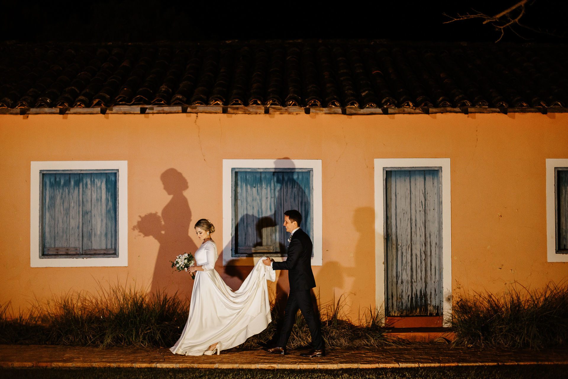 Mini Wedding Priscila + Neto {Restaurante Matuto - Cravinhos}